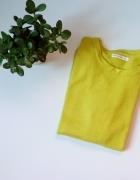 Limonkowy cienki sweterek