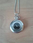 Zawieszka wisiorek zegarek srebrny kolor