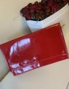 Kopertówka torebka czerwona