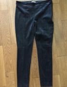 Czarne spodnie a la zamsz H&M rozm 40...