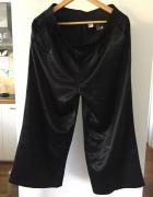 Czarne jak jedwabne spodnie culottes H&M rozm 40...