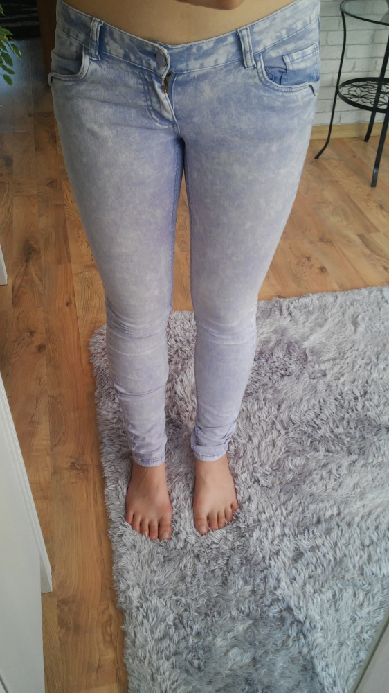 Marmurki jeansy Reserved
