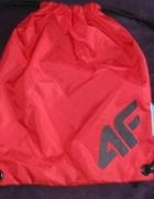 Worek plecak czerwony 4F...