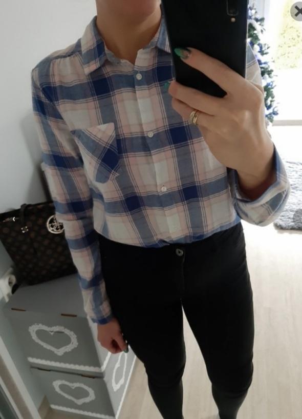 Koszula kratka H&M...