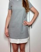Sukienka Mohito z białym kołnierzykiem rozmiar 36...