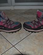 Buty trekkingowe zimowe 34rozm wkł 21 i pół cm