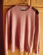 Sweterek bluza łaty bordowa męska 38 new...