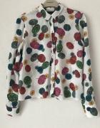 elegancka bluzka Zara w parasolki XS S...