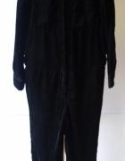 Kombinezon Czarny H&M Welurowy Welur M 38 Spodnie...