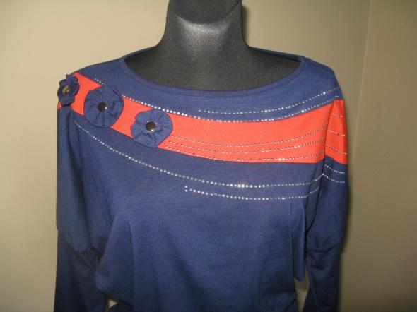 Grantowe kimono bluzka