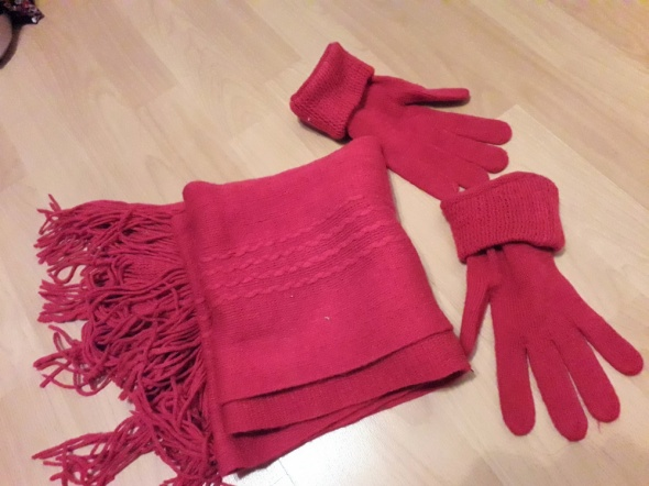 szalik rękawiczki