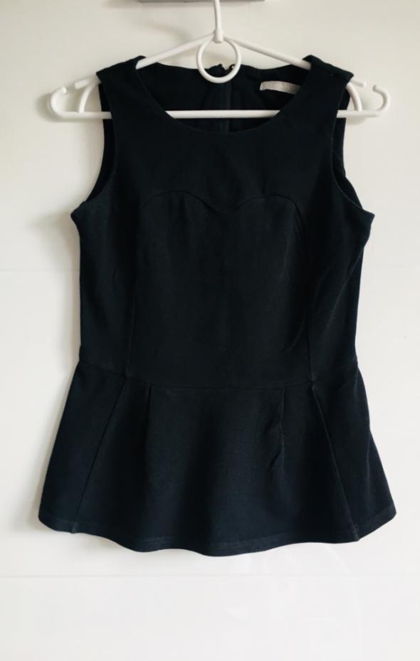 Bluzka Baskinka Czarna Orsay 36 S...