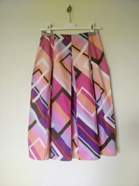 Kolorowa bawełniana spódnica marki Monnari roz S...