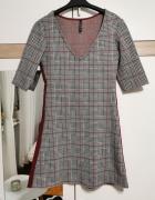 Stradivarius sukienka w kratę