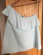 Bluzka na jedno ramię falbana 38 M Top Secret nowa 40 L luźna b...
