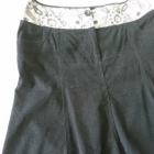 spódnica sztruksowa czarna