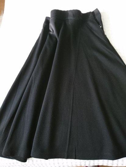 Spódnice spodnica rozkloszowana czarna