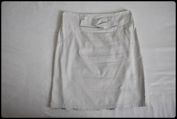 Spódnice Klasyczna spódnica biurowa rozmiar 44 jasno szara