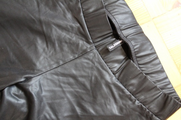 Czarne legginsy Calzedonia