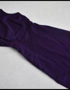 Dorothy Perkins fioletowa sukienka 40 L wycięcie na plecach...