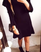 Sukienka Damska elegancka czarna M