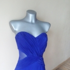 Fioletowa Lipsy London sukienka z wycięciami S M