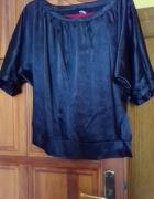 Czarna bluzka MOTYL...