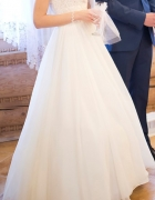 Suknia Ślubna kolor Ivory rozm XS S...