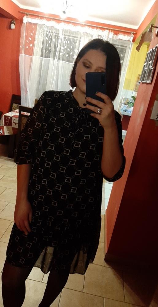 Sukienka over size