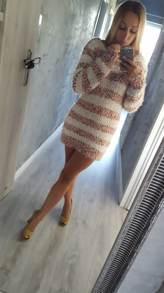 sukienka sweterkowa 36...