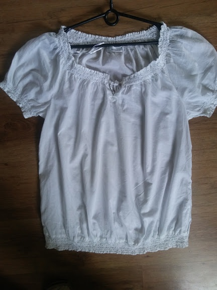 bluzka ciążowa i nie tylko z krótkim rękawem