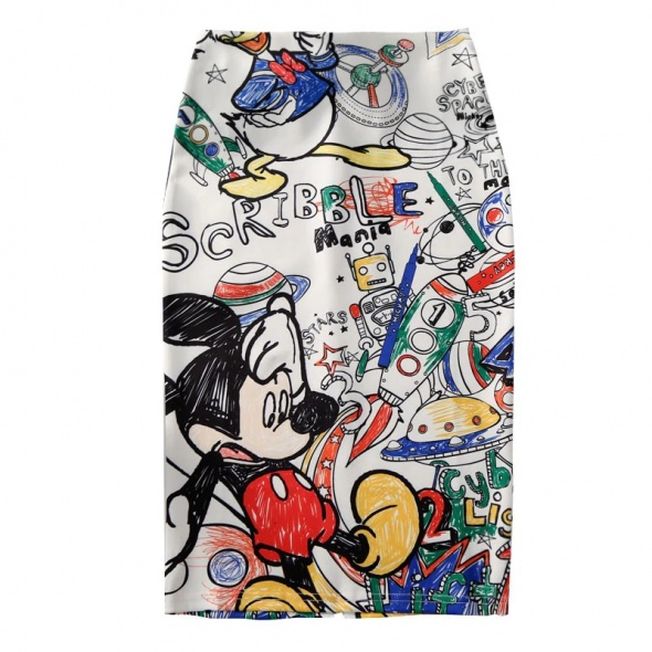 Spódnice spódnica miki ołowkowa