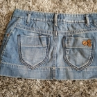 mini spódnica miniówka rozmiar S jeans Pull & Bear