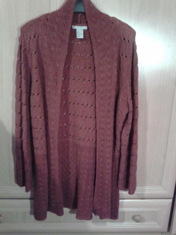 Swetry sweterek narzutka HM 38 40