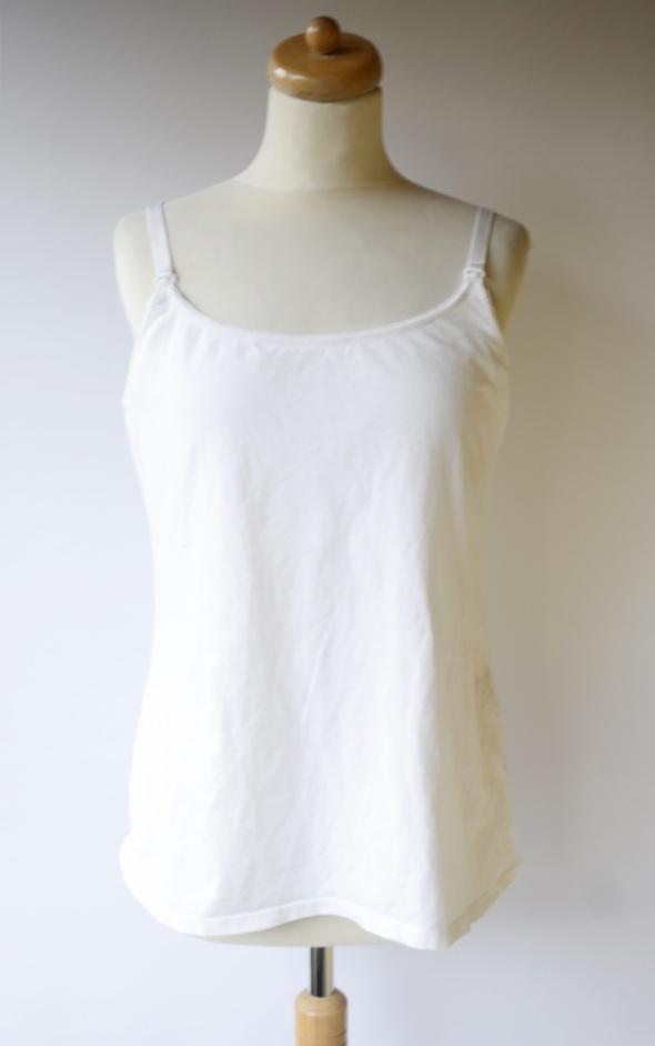 Bluzka Do Karmienia Biała H&M Mama L 40 T Shirt Mom Mum