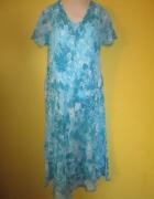 Powiewna haftowana sukienka rozmiar 42...