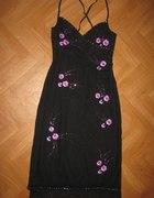 Sukienka z kwiatami OASIS...