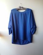 Niebieska zwiewna koszula Yessica