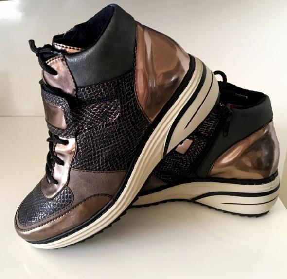 RIEKER Sneakers Zima lekkie 37 wkł 24 cm