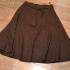 Spódnica czekoladowa 38