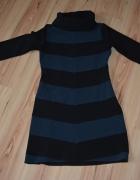 Sukienka tunika z golfem XS S Cocomore...