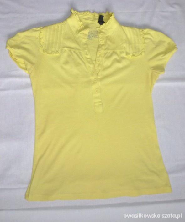 Koszulka M cytrynowa
