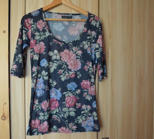 Bluzka floral M