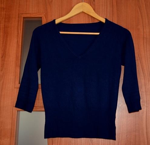 Jagodowa bluzeczka XS