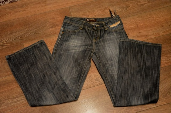 Jeansy Reactive 27 30 S