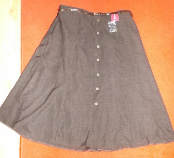 Nowa długa brązowa spódnica Bonmarche XXXL
