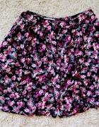 spódniczka S M floral 36 guziczki new look 10...