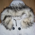 Kurtka zimowa z pięknym futerkiem