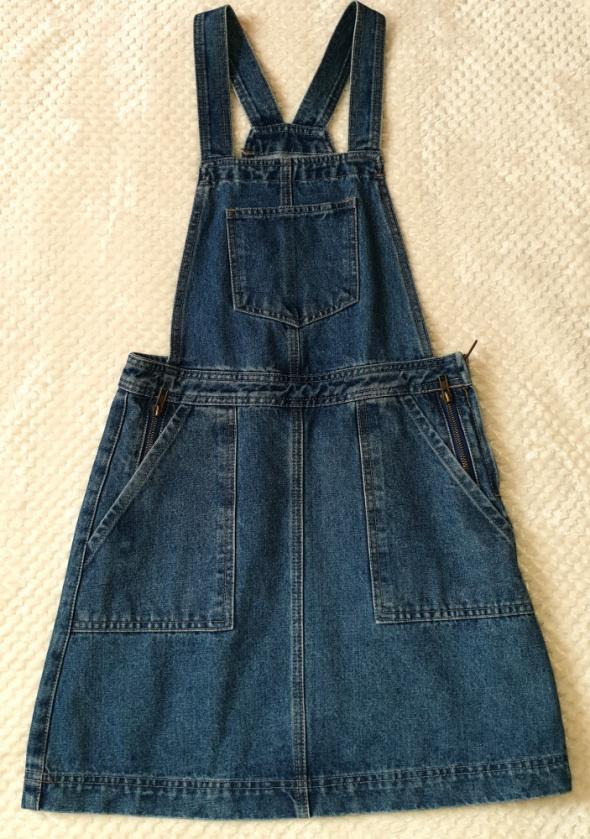 Jeansowa ogrodniczka sukienka Denim jeans rozmiar XS