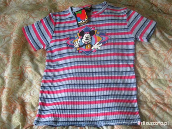 Koszulki, podkoszulki Koszulka z mickey mouse